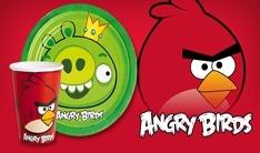 Anniversaire garçon angry birds