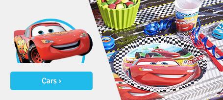 Anniversaire garçon: cars