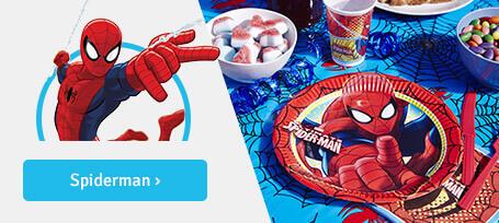 Anniversaire garçon: spider-man