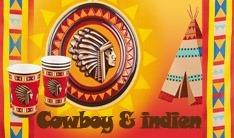 cowboy__indien Anniversaire garçon