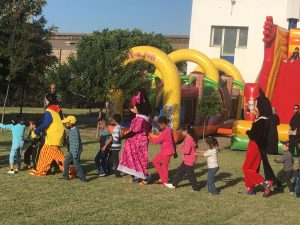 Maroc clown anniversaire animation clown