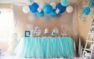 décoration buffet fête anniversaire